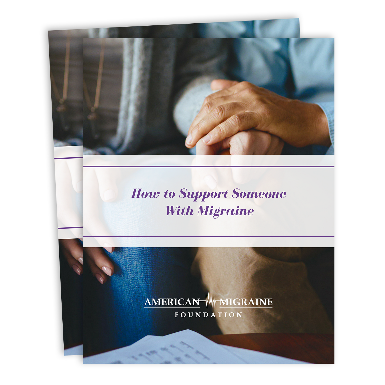 Download our guide on how to support someone with migraine.